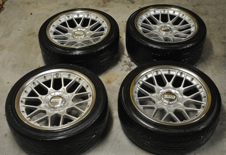 Fs 18 Bbs Rs Ii Set Of Wheels Tyres For E39 For Sale